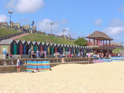 Lowestoft Beach Huts Where My Mom Went To School
