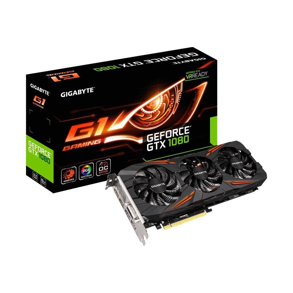 Ebay Sponsored Gigabyte Geforce Gtx 1080 G1 Gaming 8gb Gddr5x Pcie Videokarten Gaming Computer Und Videos