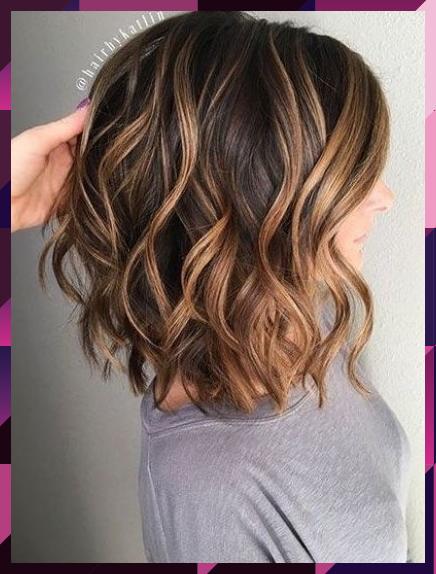 23 Beste Brunette Bob Frisuren 2017 Neue Besten Frisur Beste Besten Bob Brunette Frisur In 2020 Short Hair Balayage Thick Hair Styles Brown Hair With Highlights