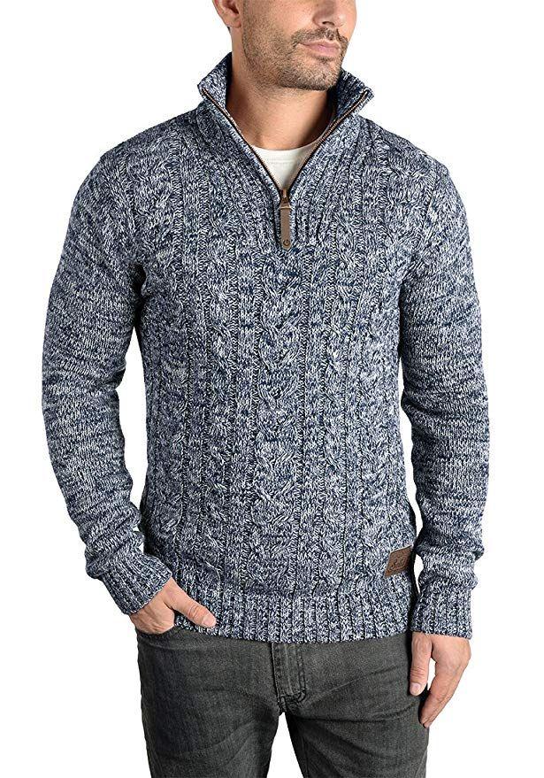 100% authentic 85993 3c394 SOLID Pankraz - maglione da Uomo: Amazon.it: Abbigliamento ...