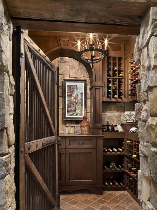 Rustic Wine Cellar & 32 Creative Wine Cellar Ideas and Designs For You | Pinterest | Wine ...