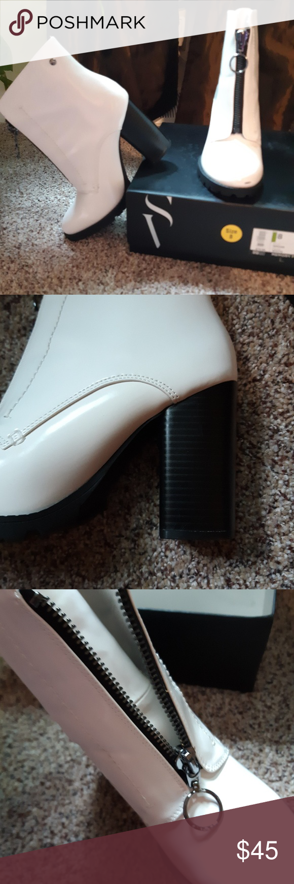 White boots, Simply vera wang