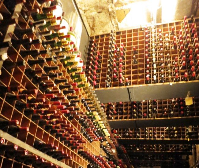Wine Cellar At Bern S Steakhouse In Tampa Fl Has Over