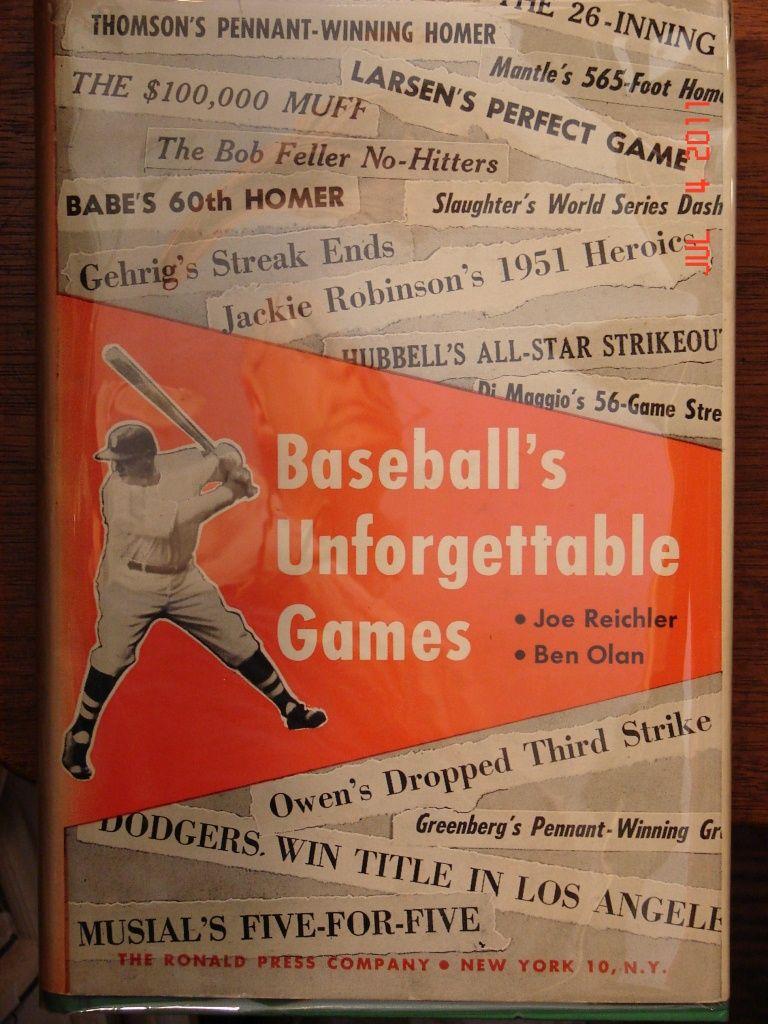 Baseball's Unforgettable Games
