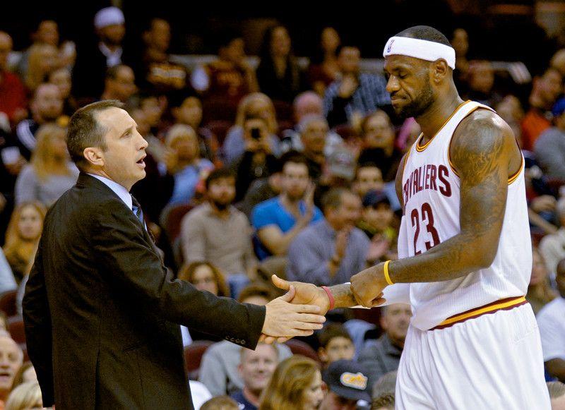 LeBron James now lavishing praise on Cavaliers head coach