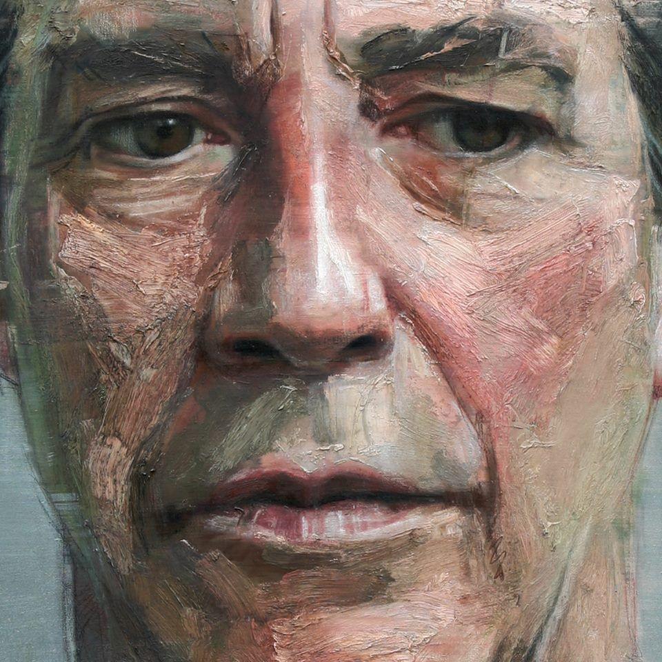 Portrait of Ciarán Hinds, 2011 (detail) - Colin Davidson