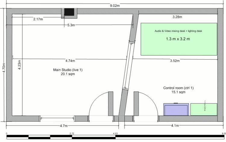 home recording studio floor plans | Studio | Pinterest | Studio