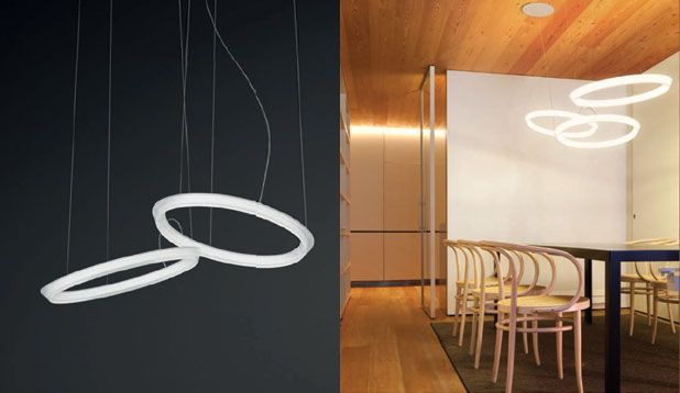 Eetkamer Lamp Design : Vibia halo licht verlichting lamp eetkamer hanglamp