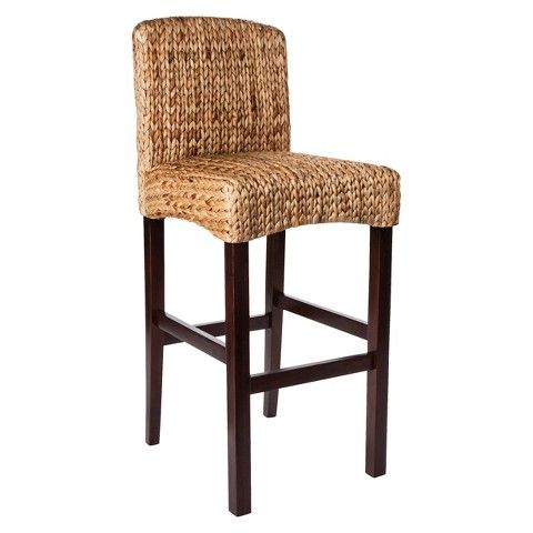 Swell Threshold Water Hyacinth 29 5 Barstool 110 49 At Target Spiritservingveterans Wood Chair Design Ideas Spiritservingveteransorg