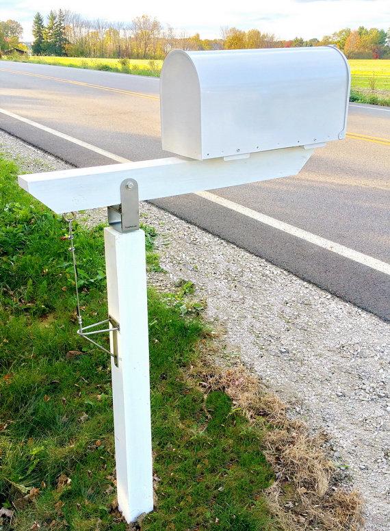 Diy Plow Resistant Mailbox Post Hardware Kit Stainless Steel Etsy Mailbox Post Outdoor Pergola Modern Mailbox