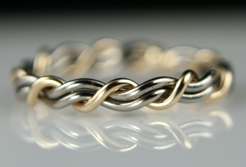 Great Wedding Band Idea Cord Of Three Rings Bands Made
