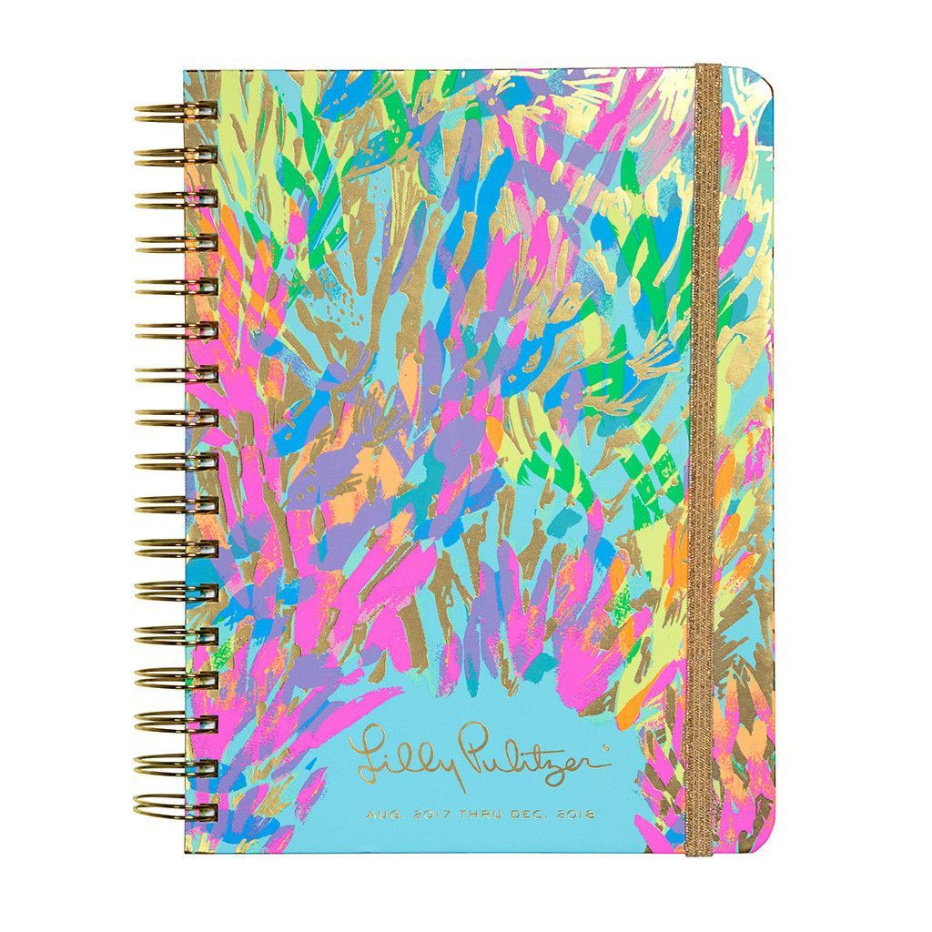 Lilly Pulitzer 20172018, 17month Monthly Planner Lilly