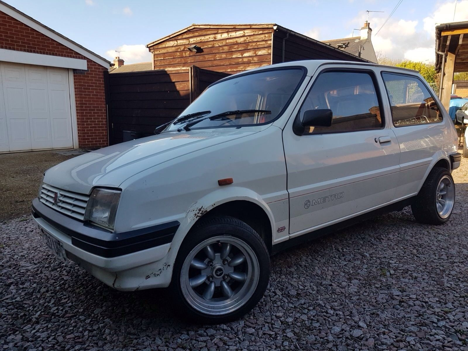 eBay: 1988 MG METRO 1275CC WHITE VERY CLEAN EXAMPLE # ...