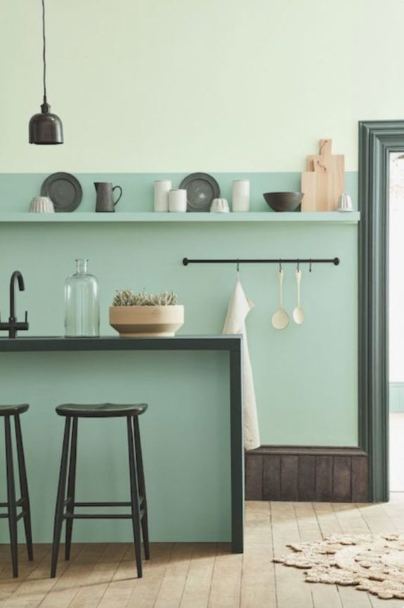 speaking of green (sfgirlbybay) Kitchens, Modern and Interiors