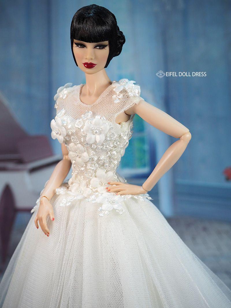 bridal #gowns / eifel 85 / 1..2 | Barbie/Doll Bridal Gowns & Dresses ...