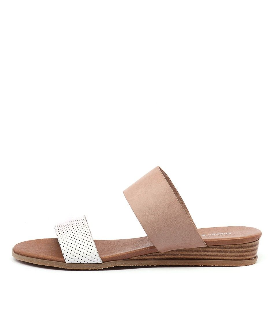 Leather · Hadmy White Pinpunch/Nude Leather from Django & Juliette
