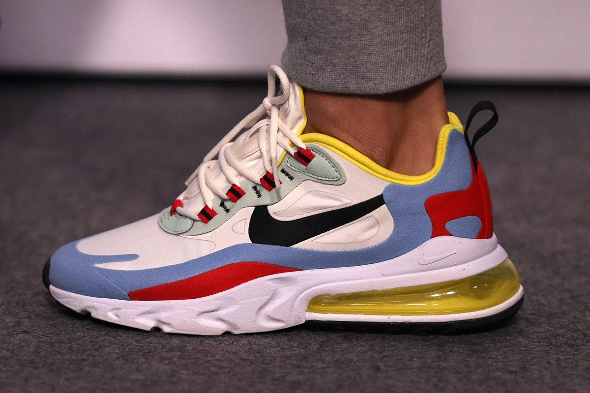 Street Style, feat. Nike Air Max 270 React Sneakers