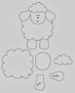 Sagoma pecorella/Oveja                                                       …