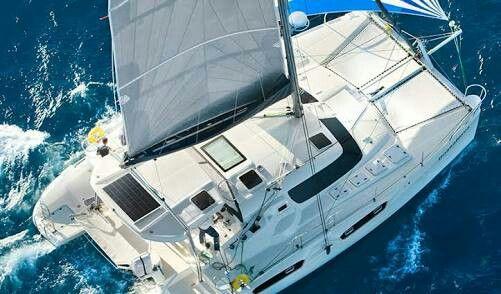 Maverick 440 in 2019   Sailing catamaran, Catamaran, Sailing
