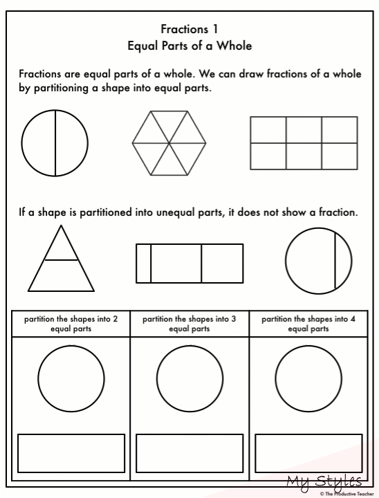 Jan 17 2020 These Fraction Worksheets Are Organized In A Progression So The Worksheets Fractions Worksheets Math Fractions Worksheets Free Math Worksheets