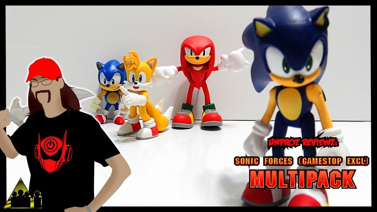 Sonic Forces 4 Pack Sonic Classic Sonic Tails And Knuckles Tomy Actio Tomy Classic Sonic Tomy Toys