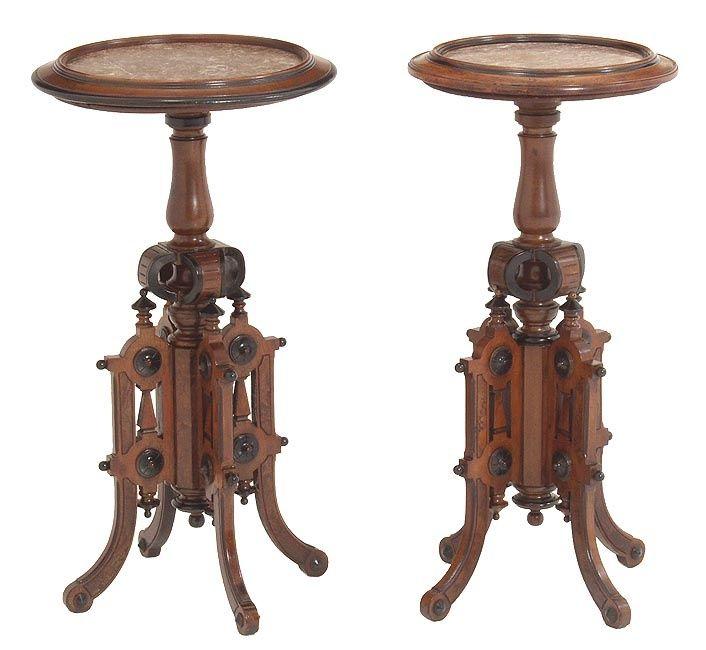 Bon Candlestands Attributed To Allen U0026 Brothers, Philadelphia   C. 1870 .