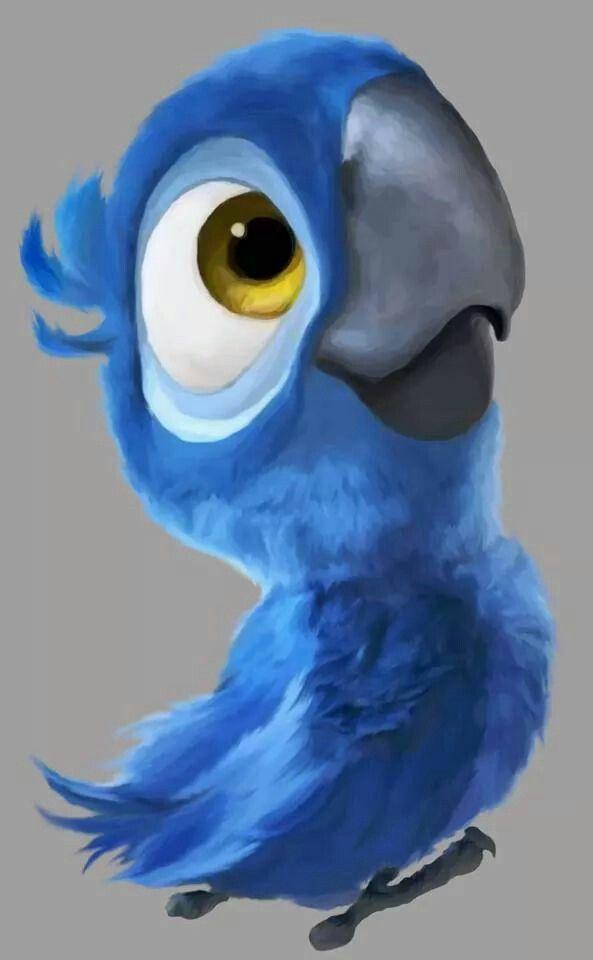 Arara Azul Blue Do Filme Rio Personagens Do Filme Rio Papel De Parede Fofo Disney Filme Rio
