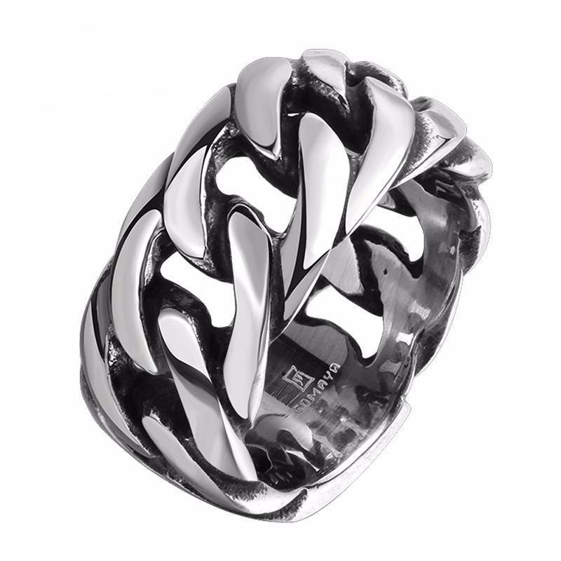 Steel Chain Tire Tracks Ring