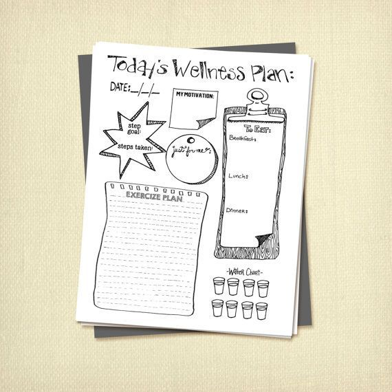 #Diet #Download #Fitness #health #Home #Insert #INSTANT #life #Plan #planner #Print #Printable #Temp...