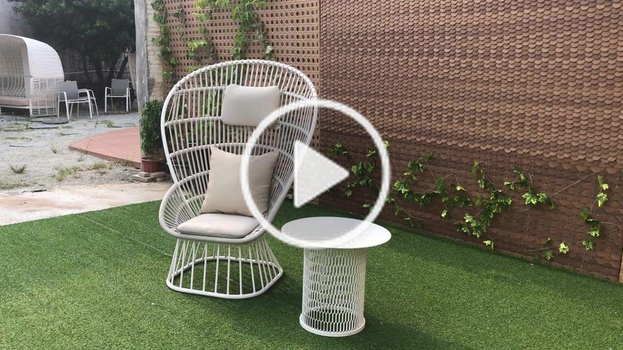 Uniq Habitat Decorat Uniqhabitatdecoration On Tiktok Luxury Patio Coffee Set Aluminum Garden Lounge Chair White High Back Rope Weaving Dining Ch Kursi Outdoor
