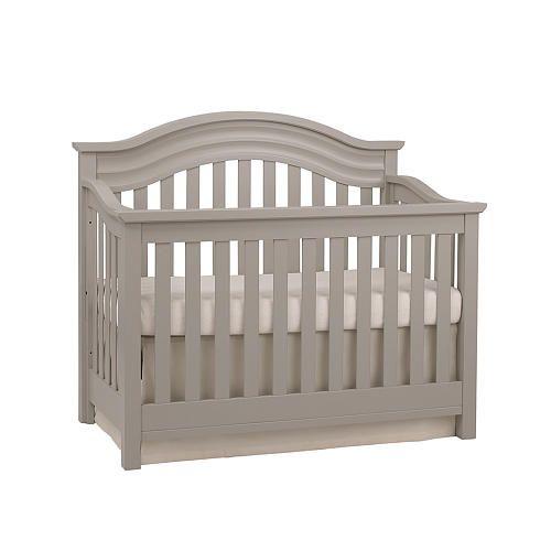 Baby Cache Riverside Lifetime Convertible Crib - Dove Gray ...