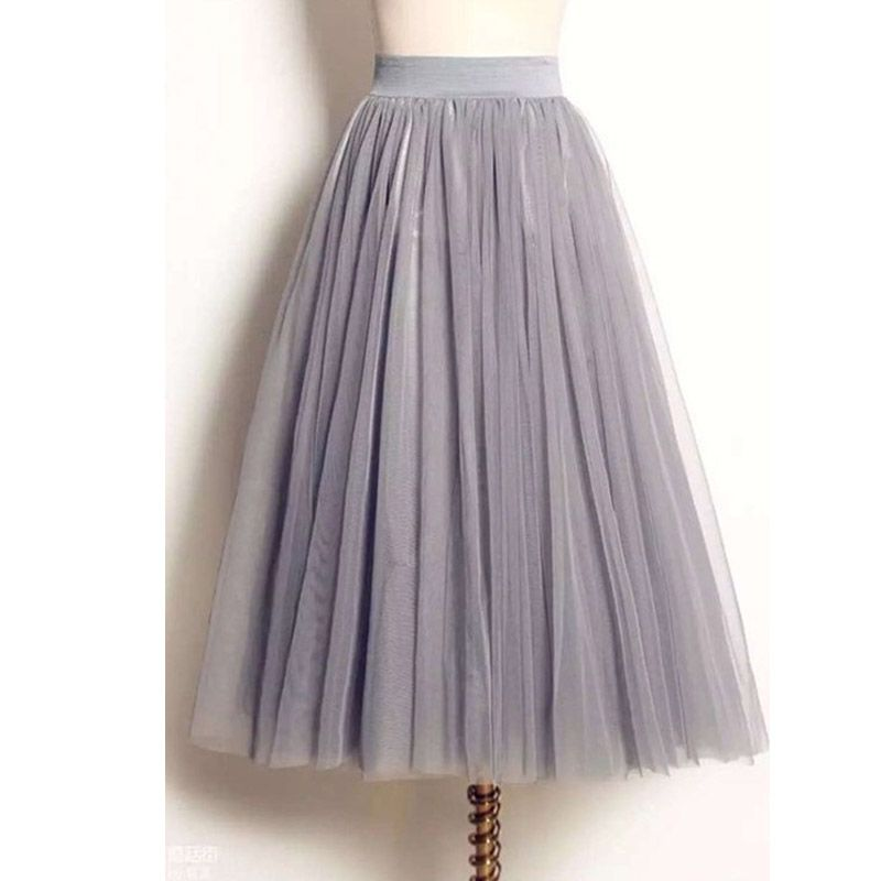 ec5b947ede $14 US Only grey, black, white Store:GetUBacK Tulle Skirts, Tulle Skirt