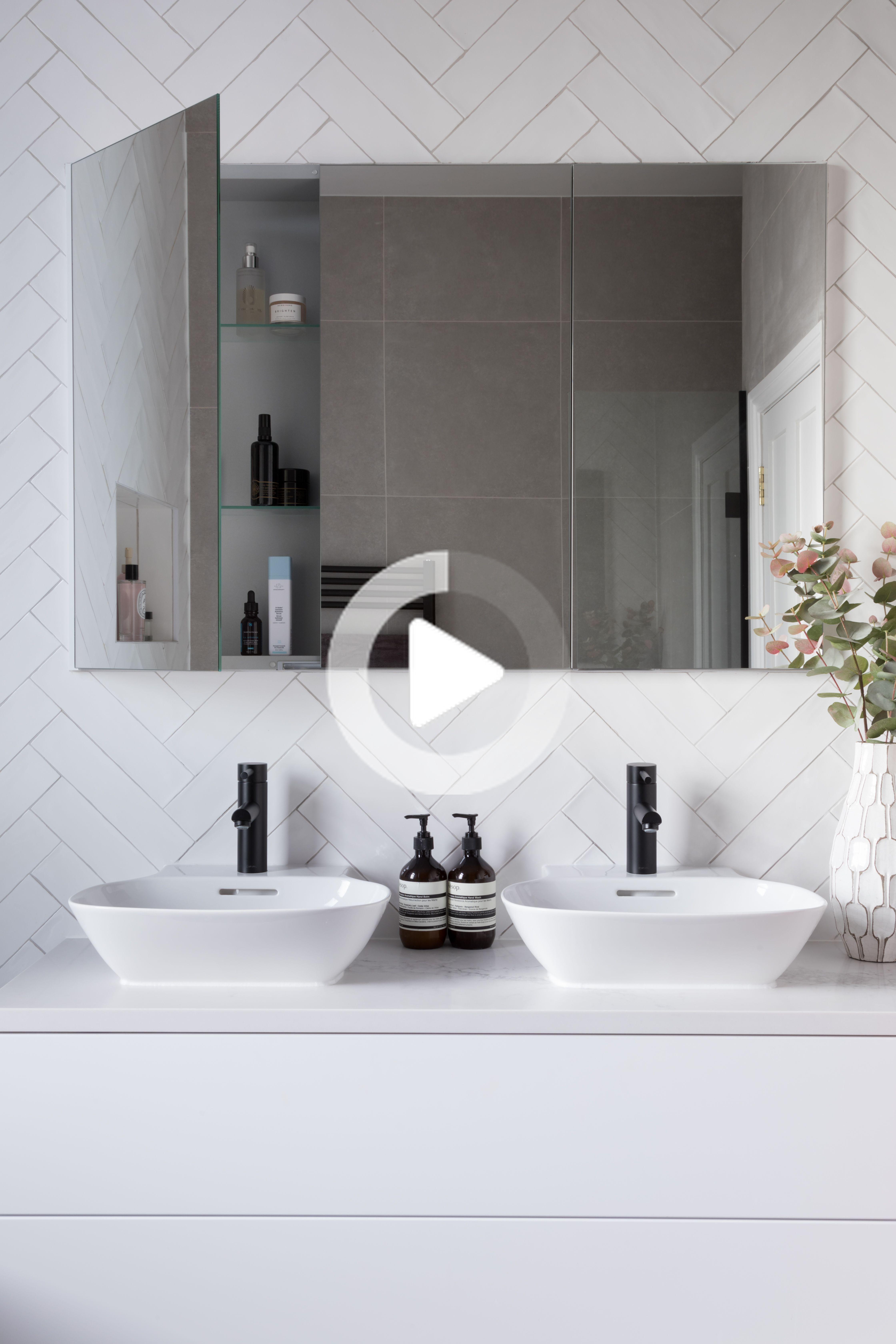 meuble de salle de bain miroir stockage de produits armoire de toilette meuble de salle de bain salle de bain