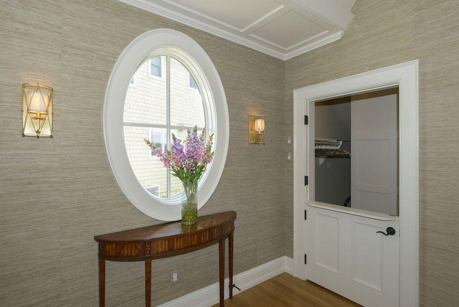 Split Foyer Door : Foyer with walk in coat closet split door for check person