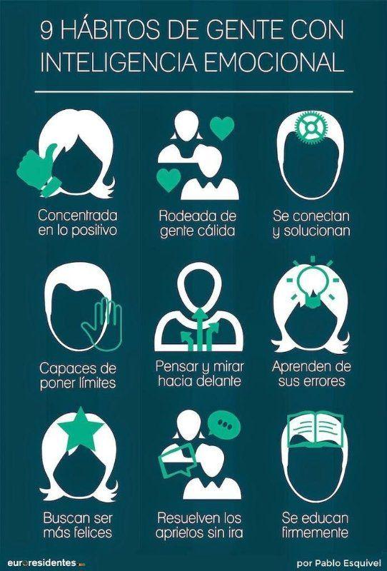 9 Hábitos de las personas que tienen más inteligencia emocional. #Comunicación