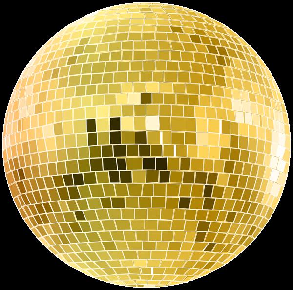 Gold Disco Ball Transparent Clip Art Image Disco Ball Free Png Downloads Art Images