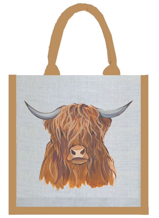 Highland Cow Bag