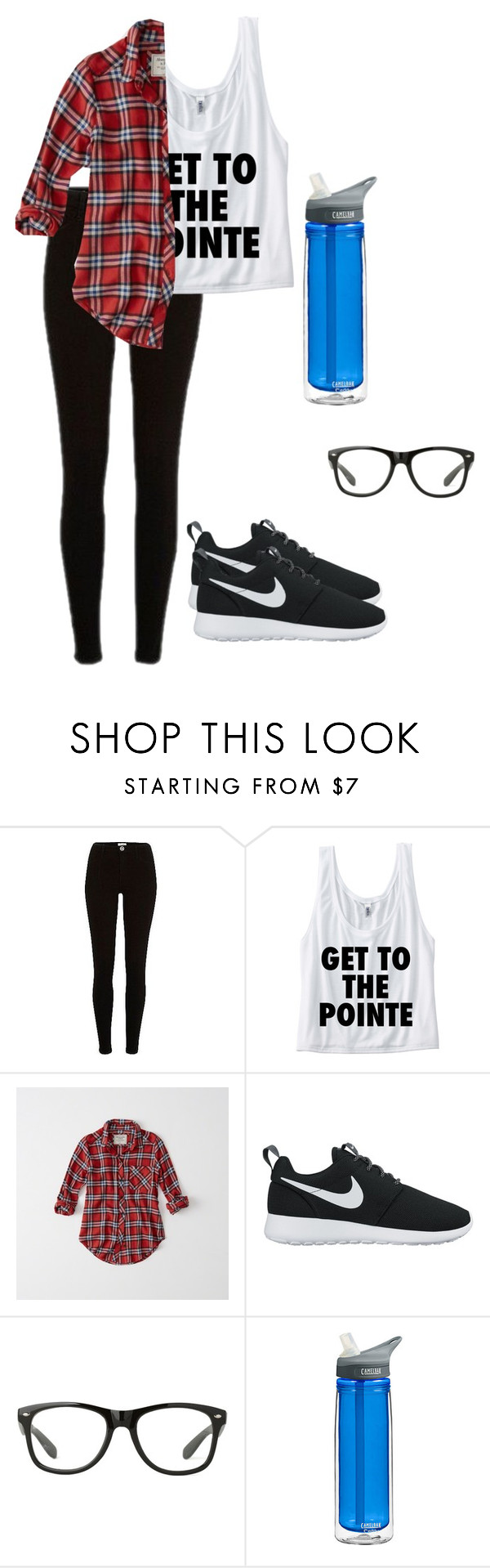 """Abbey"" by shoppingismycardio99 ❤ liked on Polyvore featuring River Island, Abercrombie & Fitch and NIKE"