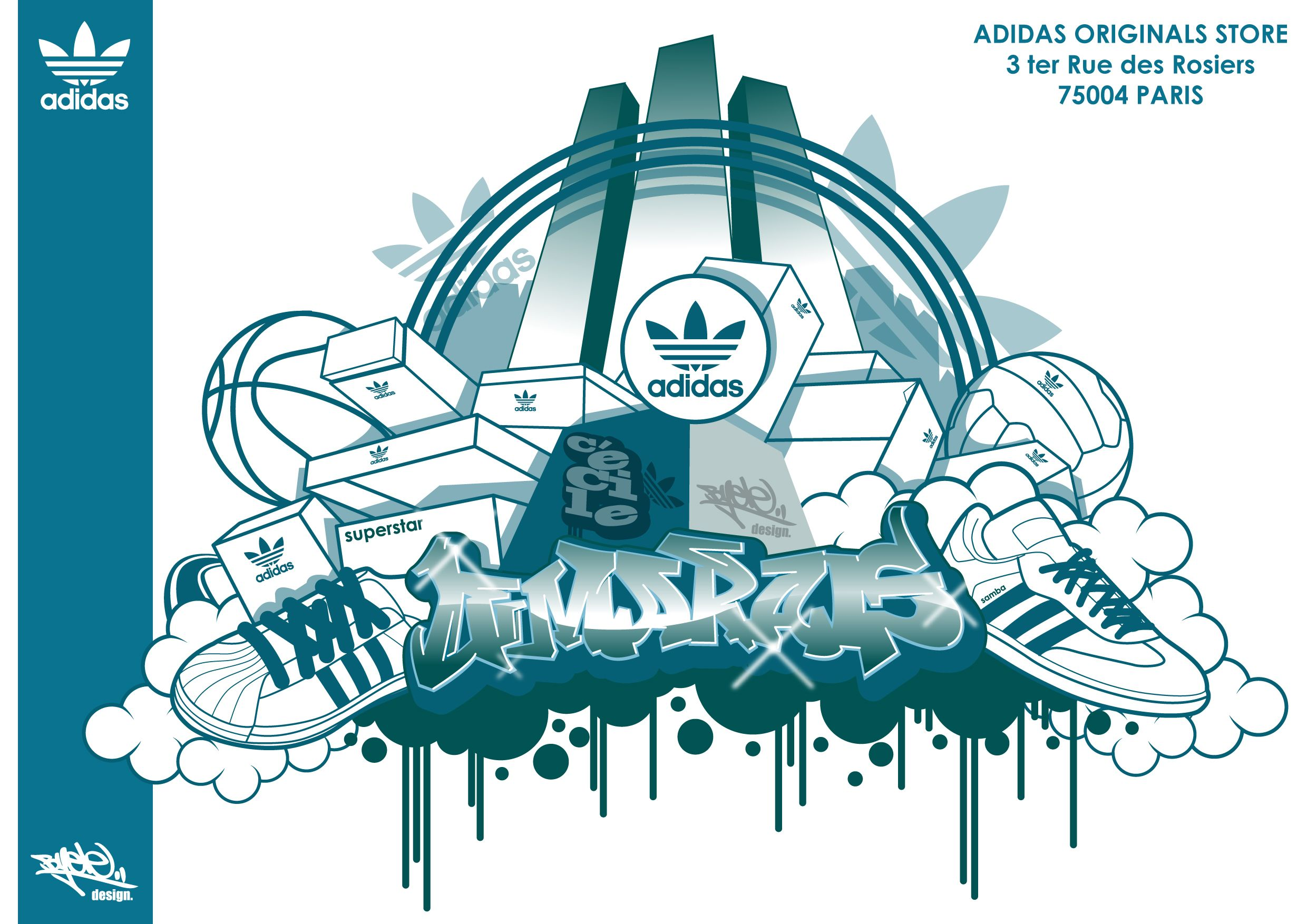 Cinemática pedestal congelador  Adidas Originals | Adidas fashion, Adidas originals, Graffiti lettering
