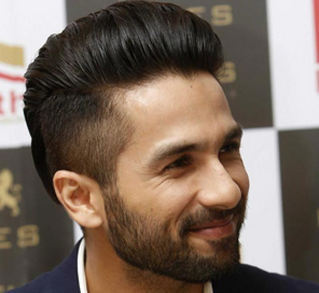 Image result for Slicked Back hairstyle of shahid