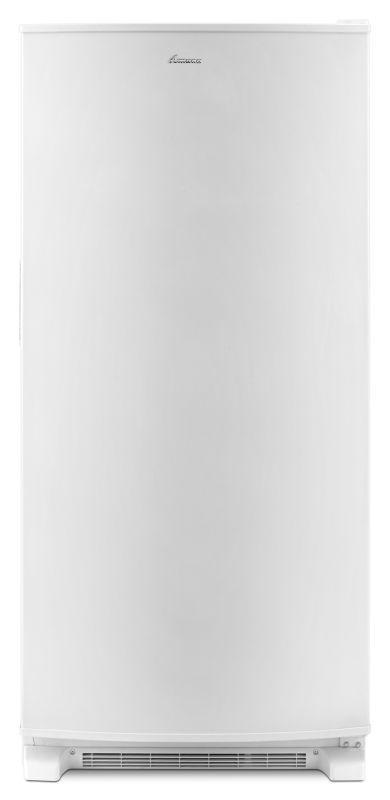 Amana AZM12X17D 30 Inch Wide 16.6 Cu. Ft. Upright Freezer with Deepfreeze Techno White Freezers Freezer Upright