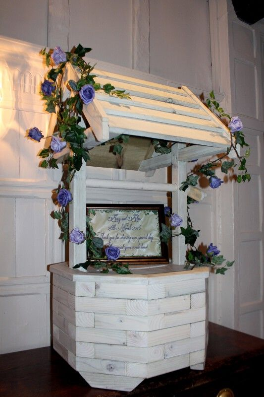 Wishing Well Postbox For Weddings In Hertfordshire Shown Here At Laura Ashley The Manor Elstree