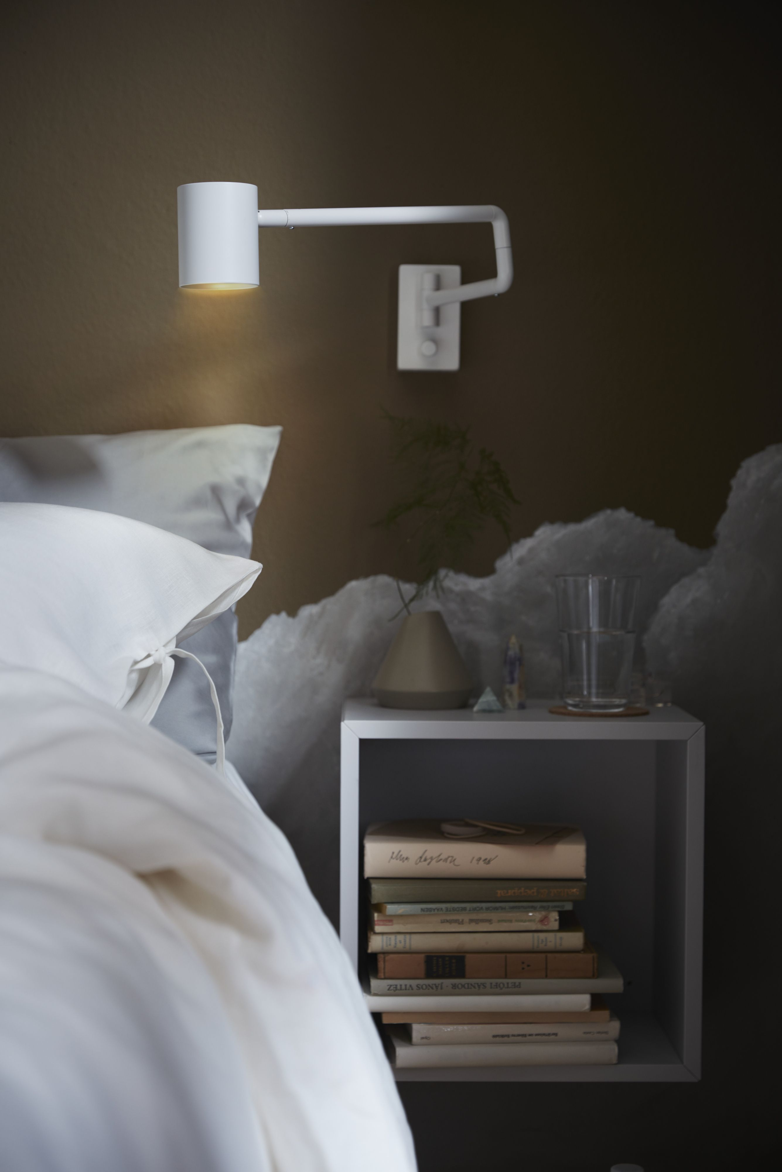 size 40 3c302 659b7 A NYMÅNE Wall lamp directs light where you need it. It comes ...