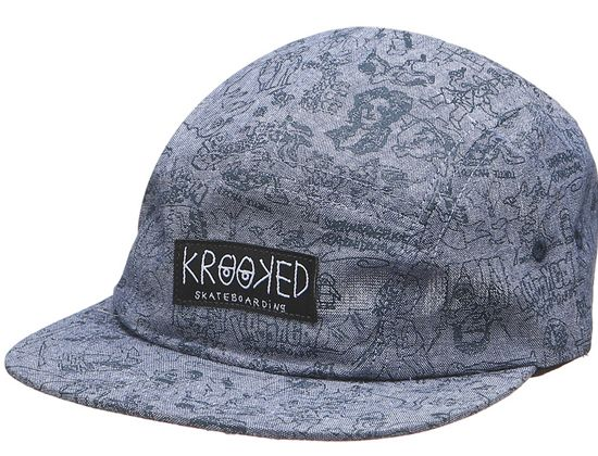 2bb8bb5845dfe Karacters 5-Panel Hat by KROOKED
