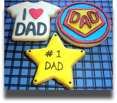 fathers day cookies - Google Search
