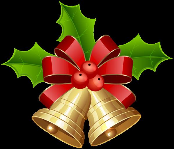 Christmas Bells Transparent PNG Clip Art Image | Clipart Christmas ...