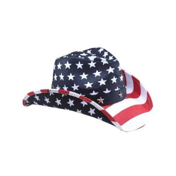 Vamuss Patriotic American Flag Cowboy Hat Blue Red White One Size 57cm Walmart Com Cowboy Hats Patriotic Hats Red Cowboy Hat
