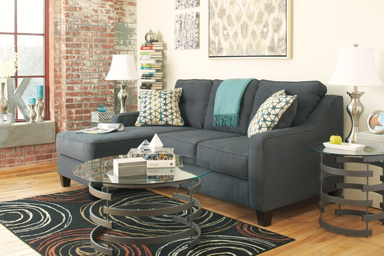 Shayla Sofa Chaise Ashley Furniture Homestore In 2020 Chaise Sofa Living Room Sofa Couch With Chaise