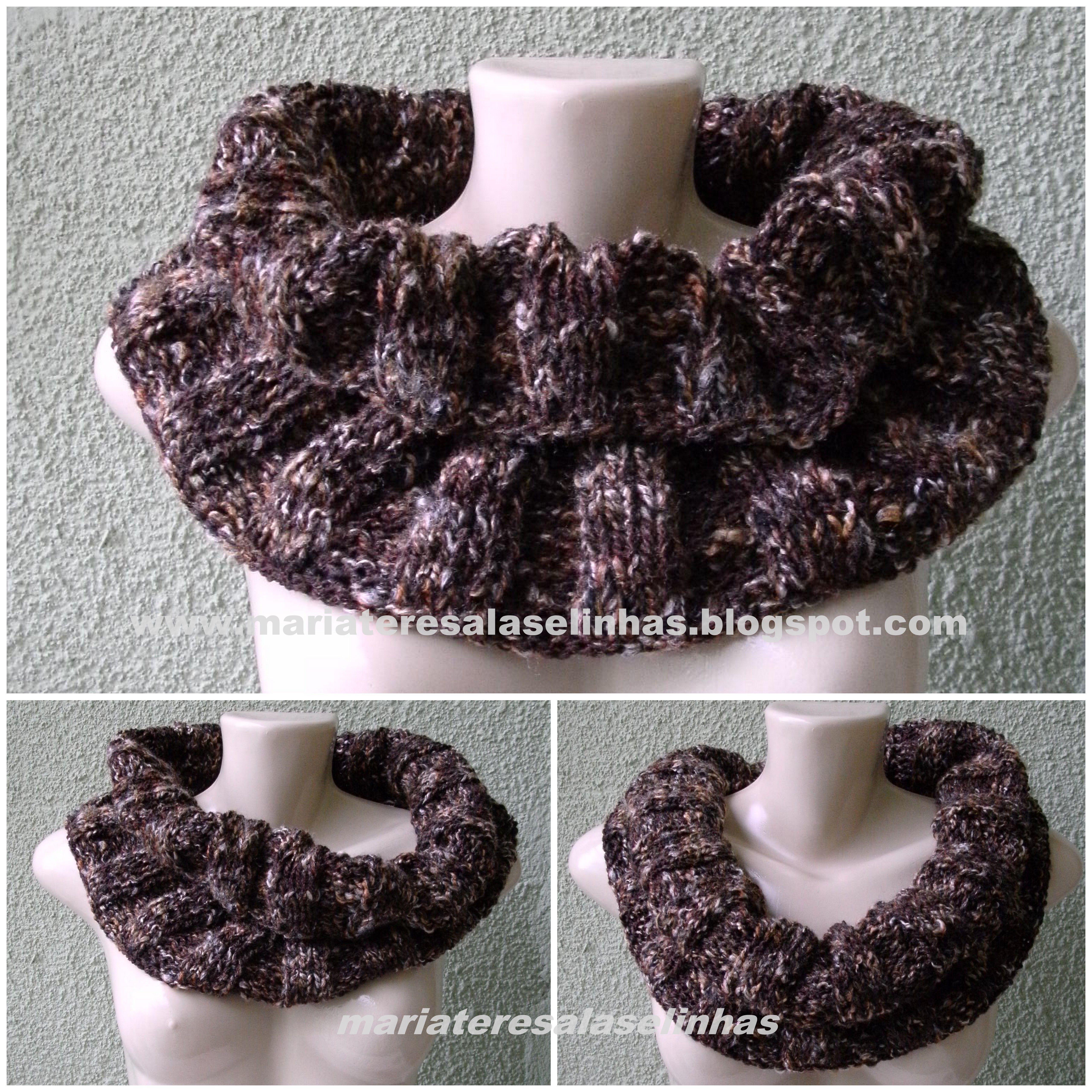 Gola tricot Artesano