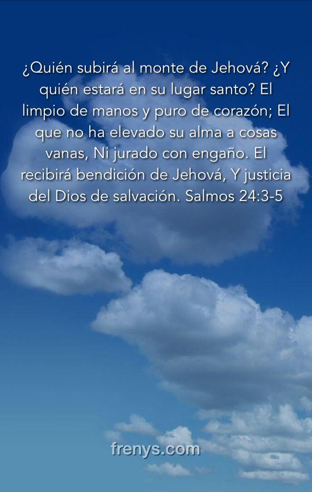 La Promesa De Dios Para Tí Quién Subirá Al Monte De Jehová Y Quién Estará En Su Lugar Santo El Limpio De Manos Y Puro De Corazón El Que